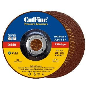 Cutfine Depressed Centre Wheel 100 Mm X 4 Mm X 16 Mm D440