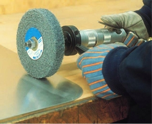 Norton Beartex P Series Px21 Abrasive Non-Woven Unified Polishing Wheel - (Dia 150mm, Thickness 25mm