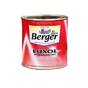 Berger Enamal Luxol Hi Gloss Smoke Grey 0.5l