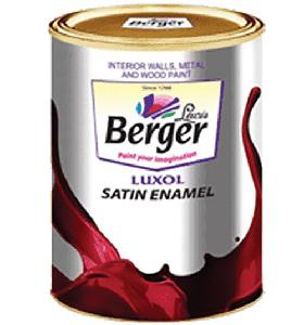 Berger Enamal Satin Brown 1l