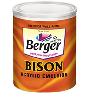 Berger Emulsion(Int) Bison White 4l