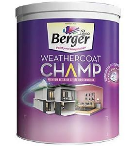 Berger Emulsion(Int+Ext) Weathercoat Champ N2 Bs 3.6l