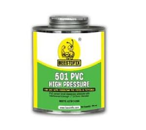 "Beestofix Pvc 501 Solvent Cement 250 Ml For Pipe Size 1/2"" To 12"" For Non Pressure Applicant"