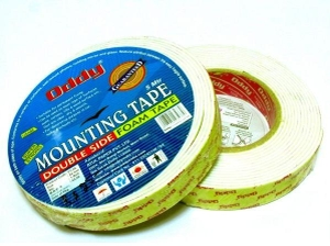 Oddy Ft-72 (5mtr. Length, 72mm Width) Mounting Foam Tape (Set Of 3 Tape)
