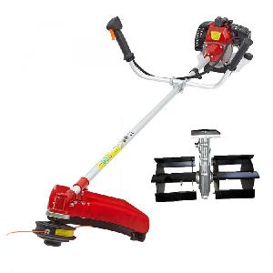 Greenleaf 2 Stroke Brush Cutter With Tiller Attachment 43cc Bc-40