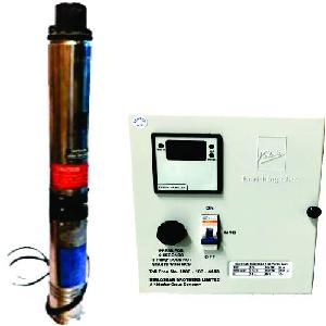 Kirloskar Kp4-0311s-Cp A 1 Hp 100 Mm Borewell Submersible Pumps With Control Panel