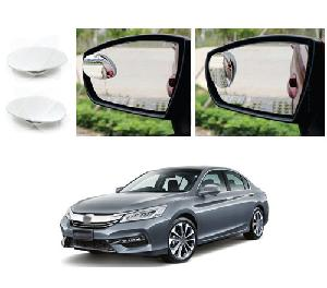 Bluestar Auto Adjustable Blind Spot Mirror For Honda Accord Pack Of 2