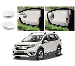 Bluestar Auto Adjustable Blind Spot Mirror For Honda Wrv Pack Of 2