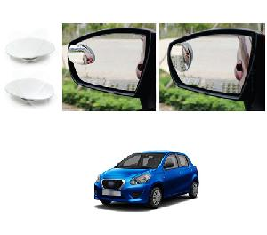 Bluestar Auto Adjustable Blind Spot Mirror For Datsun Go Pack Of 2