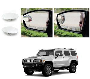 Bluestar Auto Adjustable Blind Spot Mirror For Gm Hummer H3 Pack Of 2