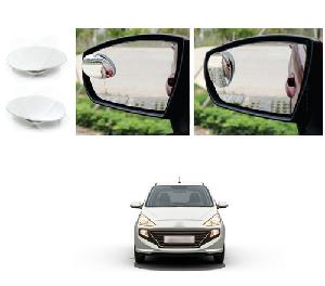 Bluestar Auto Adjustable Blind Spot Mirror For Hyundai Santro Pack Of 2