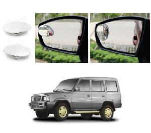 Bluestar Auto Adjustable Blind Spot Mirror For Nissan Sunny Pack Of 2