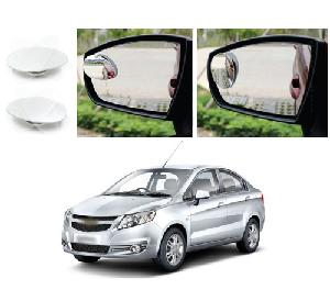 Bluestar Auto Adjustable Blind Spot Mirror For Chevrolet Sail Pack Of 2