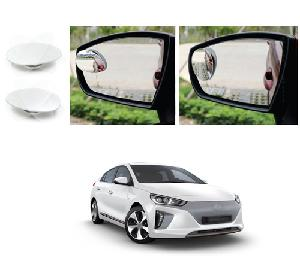 Bluestar Auto Adjustable Blind Spot Mirror For Hyundai Ioniq Pack Of 2