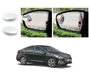 Bluestar Auto Adjustable Blind Spot Mirror For Hyundai Verna Pack Of 2