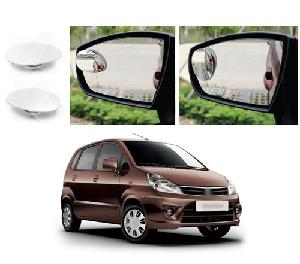 Bluestar Auto Adjustable Blind Spot Mirror For Maruti Suzuki Xl6 Pack Of 2
