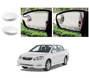 Bluestar Auto Adjustable Blind Spot Mirror For Renault Pulse Pack Of 2
