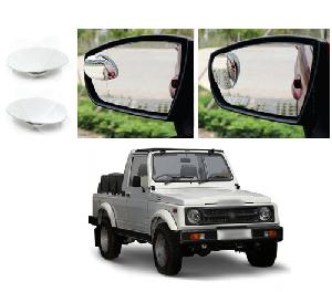 Bluestar Auto Adjustable Blind Spot Mirror For Toyota Corolla Altis Pack Of 2