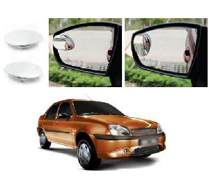 Bluestar Auto Adjustable Blind Spot Mirror For Ford Ikon Pack Of 2