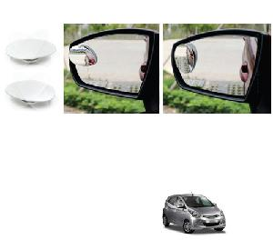 Bluestar Auto Adjustable Blind Spot Mirror For Hyundai Eon Pack Of 2