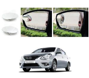 Bluestar Auto Adjustable Blind Spot Mirror For Maruti Wagonr Pack Of 2