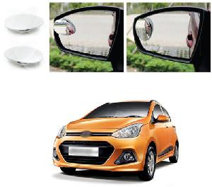Bluestar Auto Adjustable Blind Spot Mirror For Hyundai I10 Grand Pack Of 2