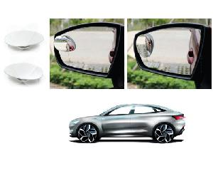 Bluestar Auto Adjustable Blind Spot Mirror For Maruti Suzuki Gypsy Pack Of 2