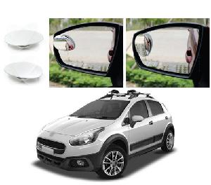 Bluestar Auto Adjustable Blind Spot Mirror For Fiat Avventura Pack Of 2