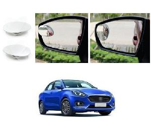 Bluestar Auto Adjustable Blind Spot Mirror For Maruti Suzuki Gypsy King Pack Of 2