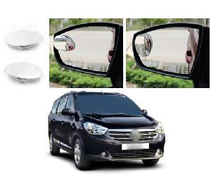 Bluestar Auto Adjustable Blind Spot Mirror For Mitsubishi Pajero Pack Of 2