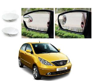 Bluestar Auto Adjustable Blind Spot Mirror For Maruti Suzuki Zen Estilo Pack Of 2
