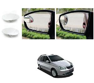 Bluestar Auto Adjustable Blind Spot Mirror For Nissan 370z Pack Of 2