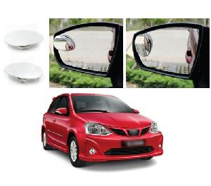 Bluestar Auto Adjustable Blind Spot Mirror For Renault Triber Pack Of 2