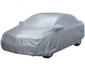 Enexoya Premium Silver Car Body Cover 100212 For Mahindra Reva