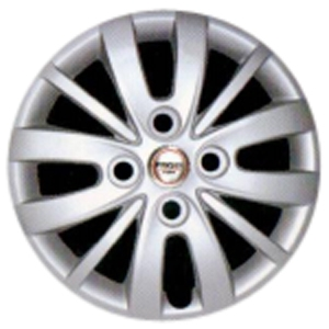Prigan Hyundai I10 New 13 Inch Bolt Fitting Wheel Cover (Set Of 4)