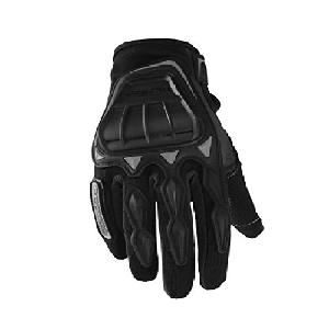 Scoyco Mc08 Motorcycle Full Finger Glove 105943 (M, Black)