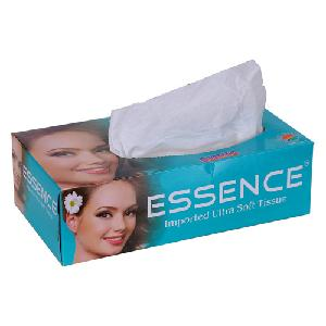 Essence Face Tissue Imported Ultra Soft 2 Ply - 200 Sheets Ft-Imptd-Sea-Green-1