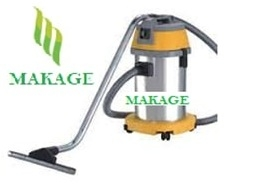 Makage 30 Ltr. Wet & Dry Vacuum Cleaner Yellow And Gray Color