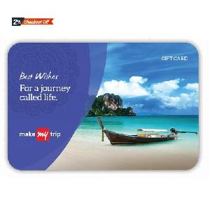 Makemytrip Gift Card Inr 5000
