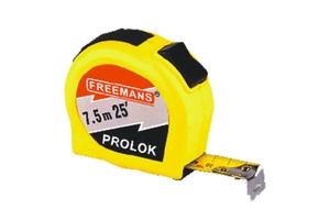 Freemans 10 M Pocket Steel Measuring Tape 25 Mm Pl1025