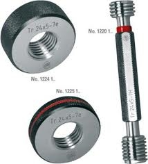 Baker I.S.O. Metric Thread Gauge(Dia 25 Mm, Pitch 2)