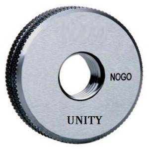 Unity M8x1.25 Mm No Go Type Thread Ring Gauge