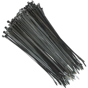 Grapple 100 Mm (L) Black Cable Ties Pack Of 1000 Pcs