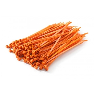 Grapple 200 Mm (L) Orange Cable Ties Pack Of 1000 Pcs