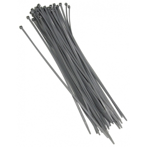Grapple 150 Mm Cable Ties (Grey) 100 Pcs Pack