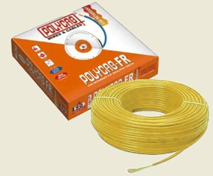 Polycab 6 Sq.Mm (Length 200 M) Fr Pvc Insulated Cable Yellow