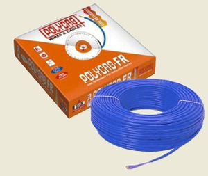 Polycab 6 Sq.Mm (Length 200 M) Fr Pvc Insulated Cable Blue