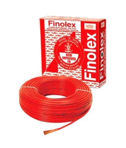 Finolex 10303 1 Sq.Mm 11 A 90 M Flame Retardant Cable Red