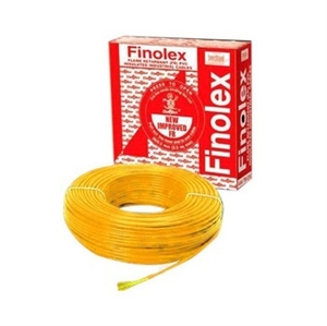 Finolex 10306 4 Sq.Mm 24 A 90 M Flame Retardant Cable Yellow