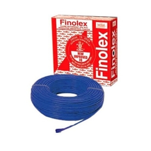 Finolex 10307 6 Sq.Mm 31 A 90 M Flame Retardant Cable Blue